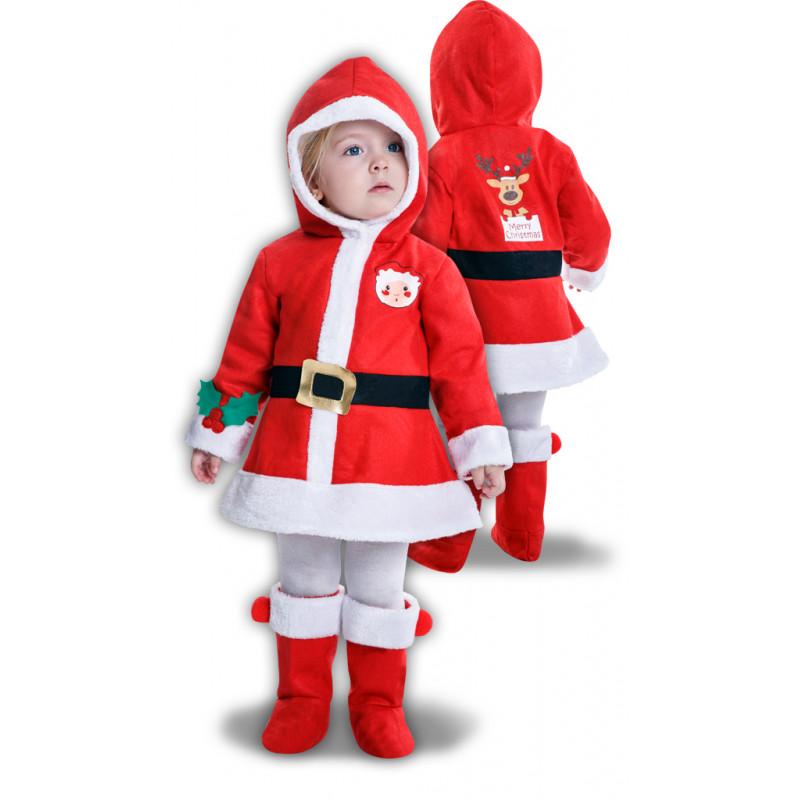 Disfraz de Mamá Noel para Niña  7195095455f