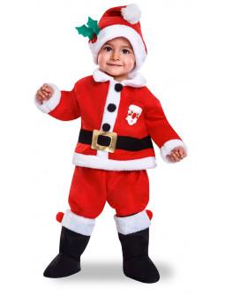 Disfraces de navidad para ni os y ni as infantiles - Disfraz papa noel nino ...
