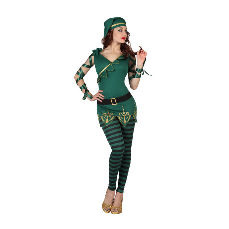 Disfraz de mujer duende - Disfraces de duendes de navidad ...