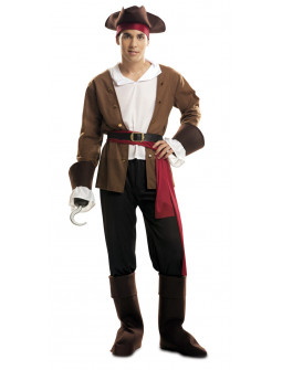 Disfraz de Pirata Bucanero para Hombre