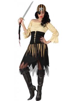 Disfraz de Pirata Bucanera