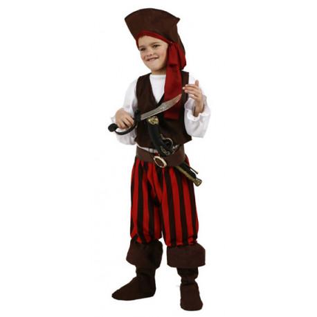 Disfraz de Pirata Rayas