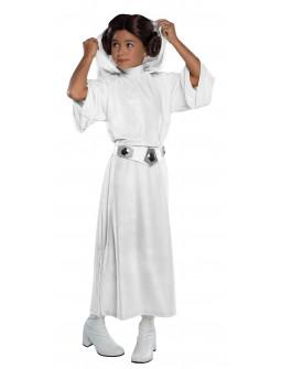 Disfraz de Princesa Leia Premium para Niña