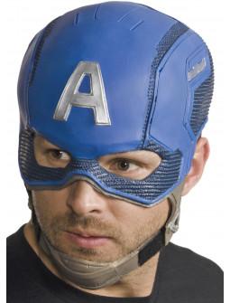 Máscara del Capitán América de Látex
