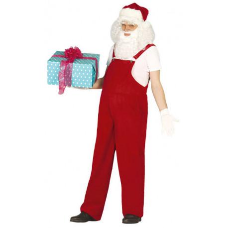 Disfraz de Papa Noel con Peto