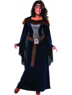 Disfraz Princesa Medieval Oscura