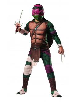 Disfraz de Tortuga Ninja Raphael Infantil