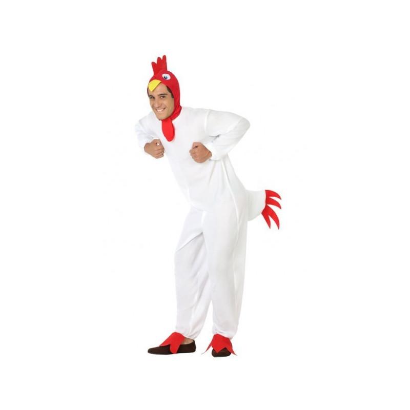 Disfraz De Gallo Blanco Para Hombre Comprar Online