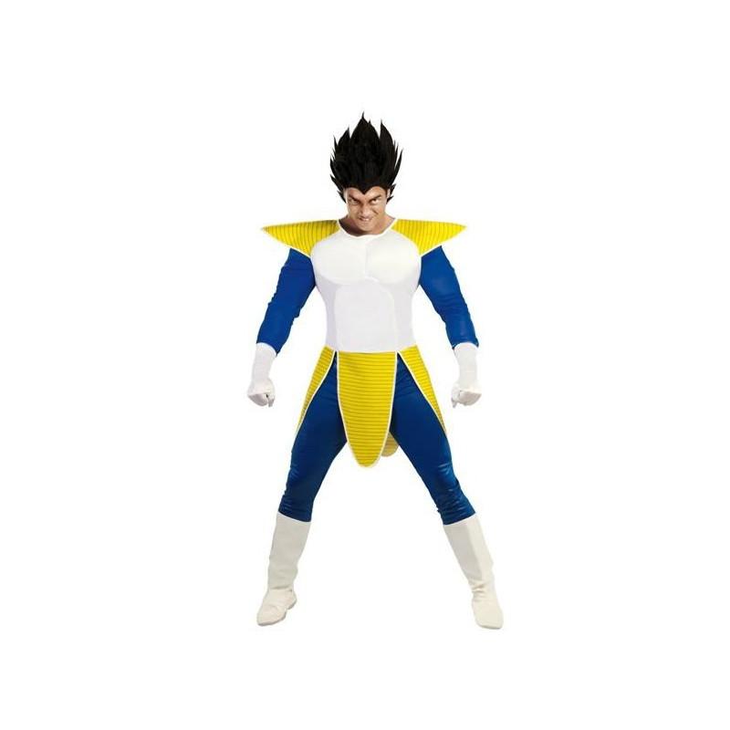 Disfraz de Vegeta Dragon Ball para Hombre  e9364610e890