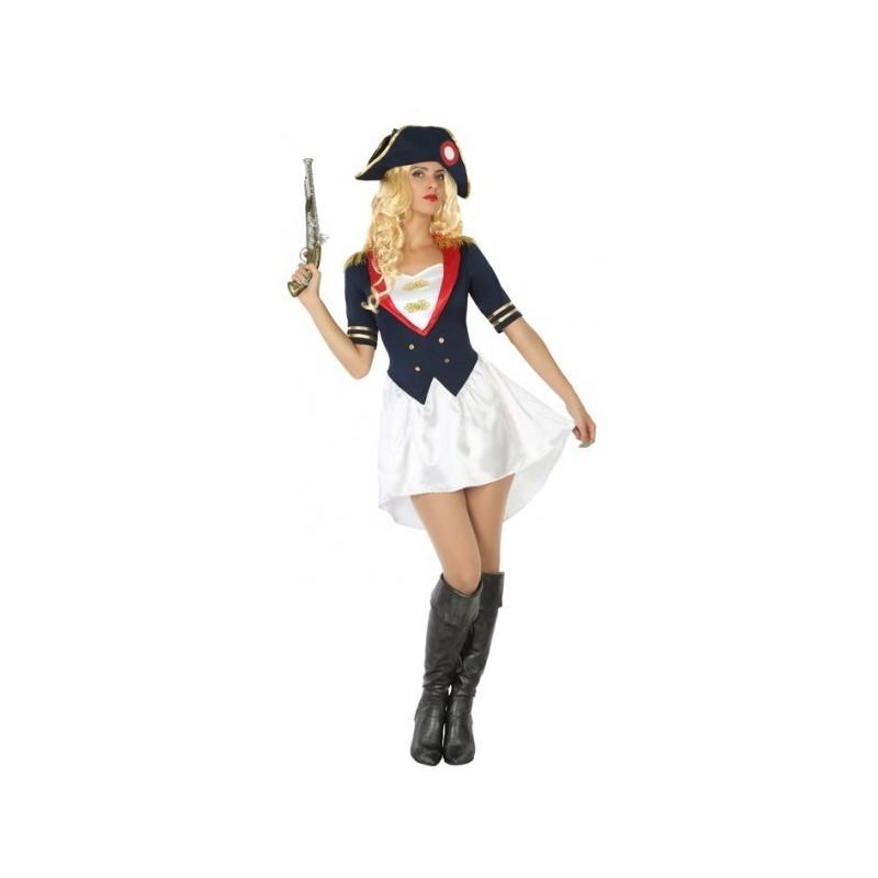 Disfraz de Napoleón para Mujer  419c6e39212