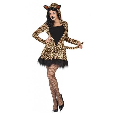 Vestido de mujer Leopardo