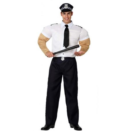 Disfraz de Policia Musculoso