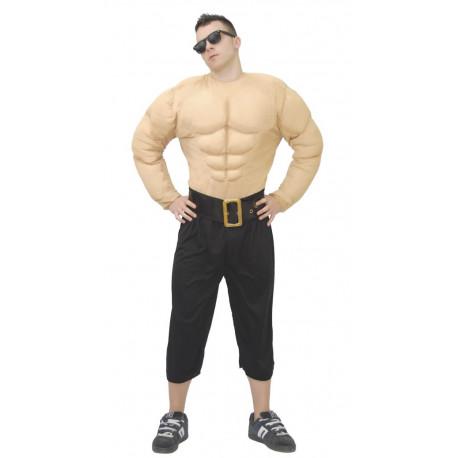 Cuerpo musculoso de hombre