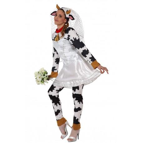 Disfraz de Vaca Novia