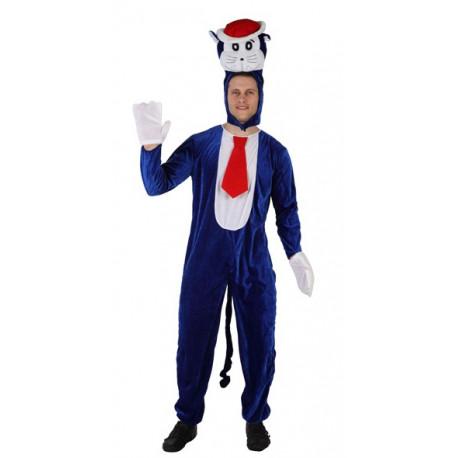 Disfraz de Gatito Azul