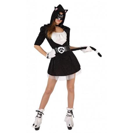 Disfraz de Gatita Negra