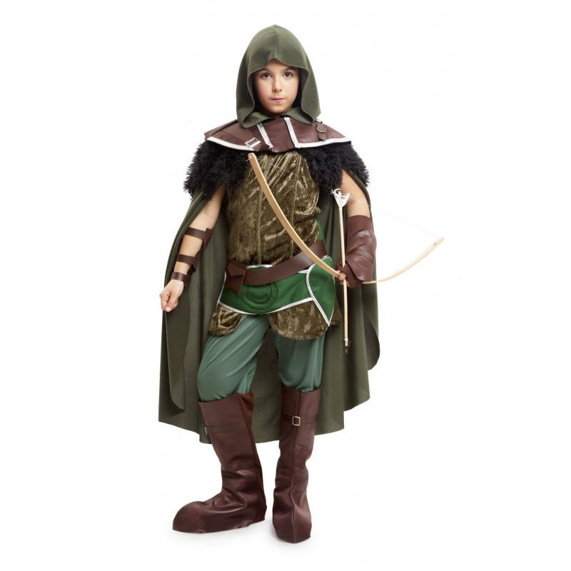 Disfraz de arquero medieval premium para ni o comprar - Disfraz elfo nino ...