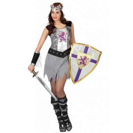 Vestido de Guerrea Medieval