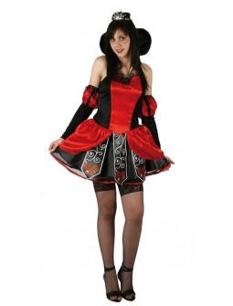 Disfraz de Princesa de Corazones