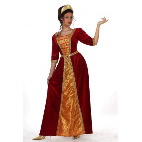 Vestido de princesa medieval