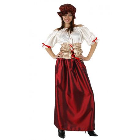 Vestido de Doncella de la Corte