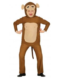 Disfraz de Mono Loco para Adulto