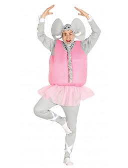 Disfraz de Elefante Bailarina Adulto