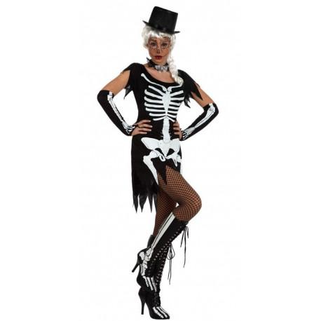 Disfraz de mujer Esqueleto