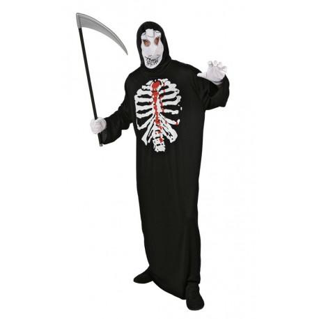 Disfraz de Esqueleto con Túnica