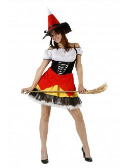 Disfraz de Bruja en color