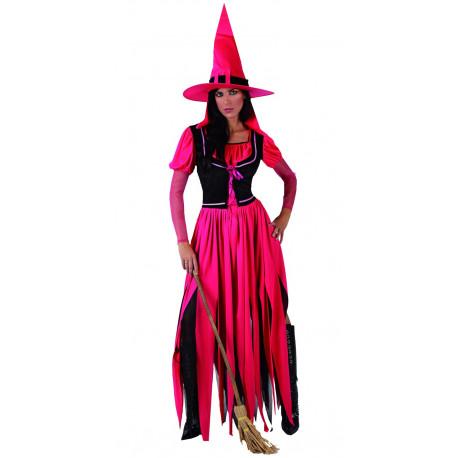 Disfraz de Bruja Fuxia