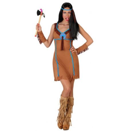 Disfraz de Mujer india