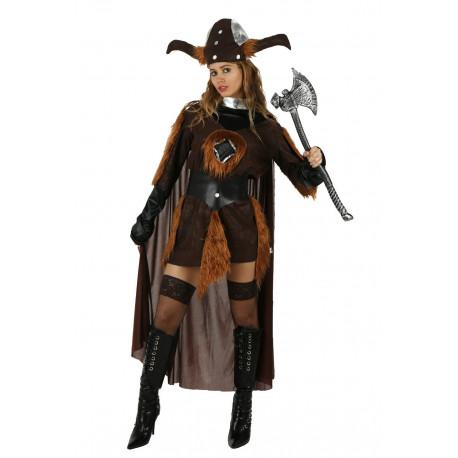 Disfraz de Mujer Vikinga