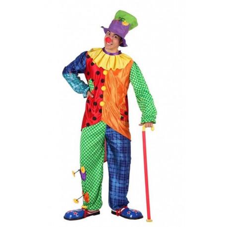 Disfraz de Payaso Multicolor