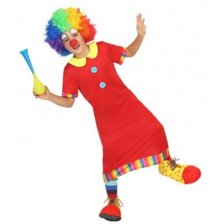 Disfraz de Payasete Rojo para Niño