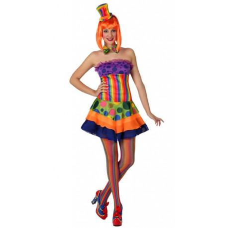 Disfraz de Mujer Payasa