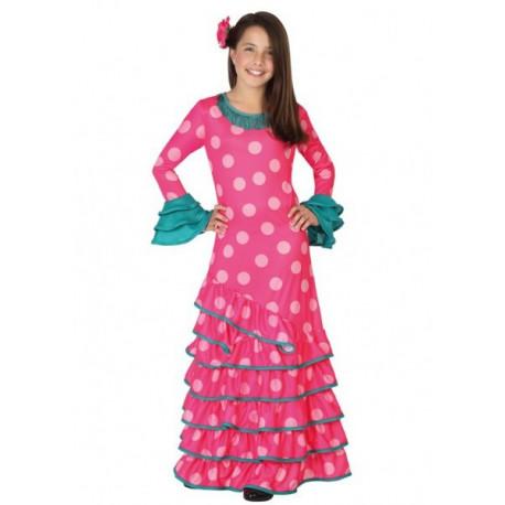 Disfraz de Sevillana para niñas