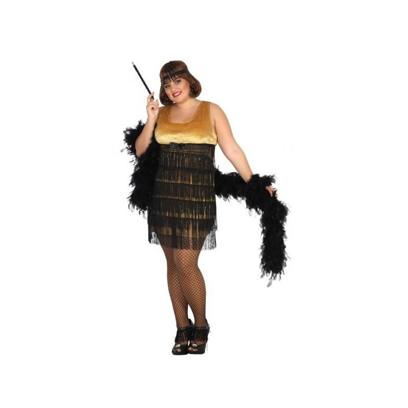 Hacer vestido charleston mujer