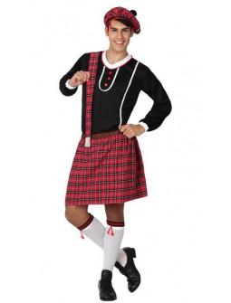 Disfraz de Escocés con Boina
