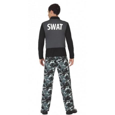 Disfraz de SWAT para hombre