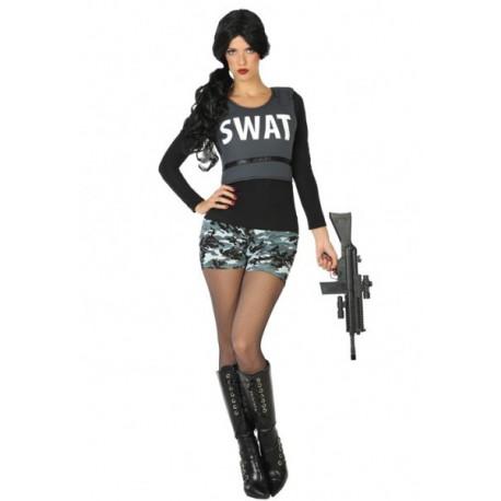Disfraz de SWAT para mujer