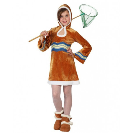 Disfraz de Esquimal para niña