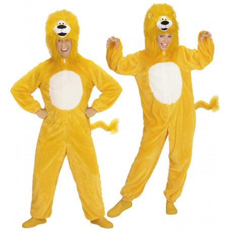 Disfraz de León Amarillo para Adulto