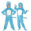 Disfraz de León Azul para Adulto