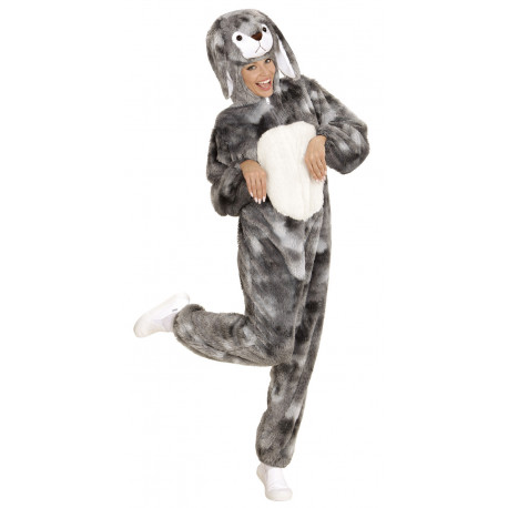 Disfraz de Conejo Gris para Adulto