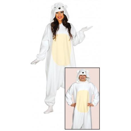 Disfraz de Oso Polar para Adulto