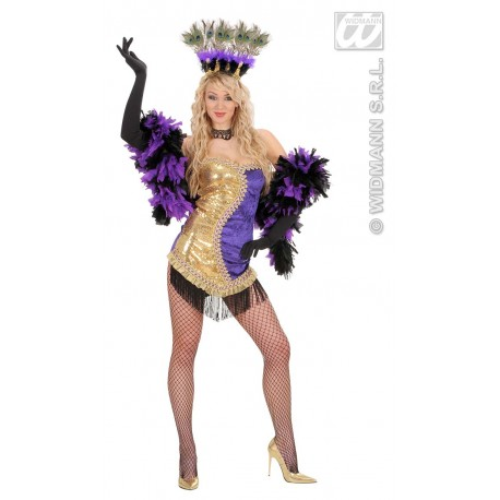 Disfraz de Vegas Showgirl