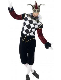 Disfraz de Arlequín Elegante para Hombre