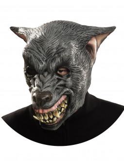 Máscara de Lobo Agresivo