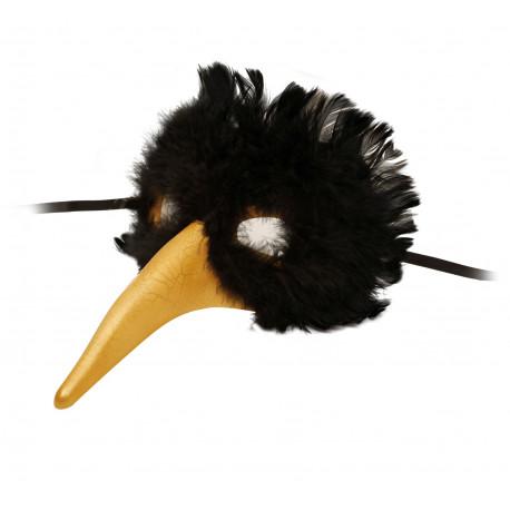 Máscara Veneciana Cisne Negro